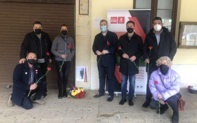 El PSOE de Sahagún celebra un acto para homenajear al alcalde republicano Benito Pamparacuatro en el 90 aniversario de la proclamación de la II República