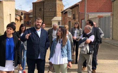 El PSOE de Sahagún insta a la Junta a visitar la Comarca con inversiones directas y soluciones reales que salden su deuda histórica